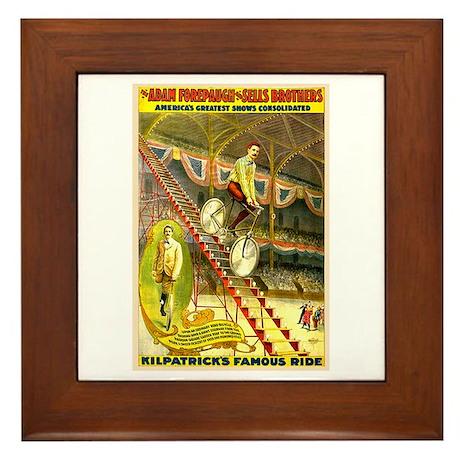 Kilpatrick's Famous Ride Framed Tile