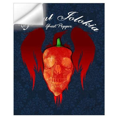 Ghost Pepper Wall Decal