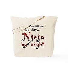 Nurse Practitioner Ninja Tote Bag