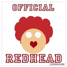 Official Redhead Poster