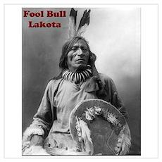 Fool Bull - Lakota Poster