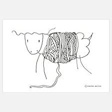 Cool Knitter Wall Art