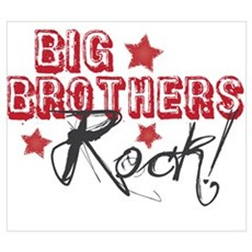 Big Brothers Rock Poster