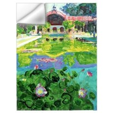 Water Lily Pond Wall Decal