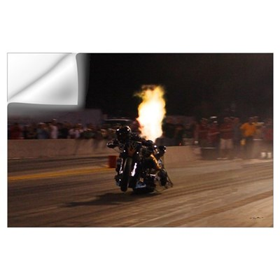 "Korry Hogan-""The Fastest Drag Bike on the Pla Wall Decal"