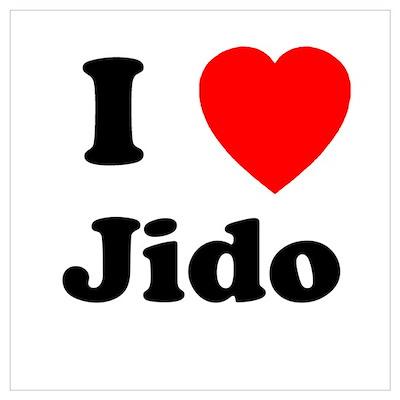 I heart Jido Poster