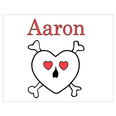 Aaron - Love Pirate Poster