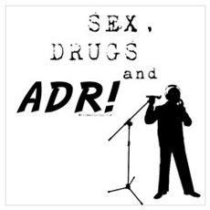 Sex, Drugs and ADR! Canvas Art
