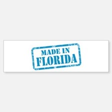 MADE IN FLORIDA Sticker (Bumper)