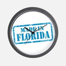 MADE IN FLORIDA Wall Clock