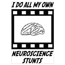 Neuroscience Stunts Framed Print