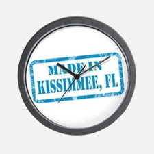 MADE IN KISSIMMEE, FL Wall Clock