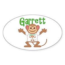 Little Monkey Garrett Decal