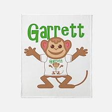 Little Monkey Garrett Throw Blanket