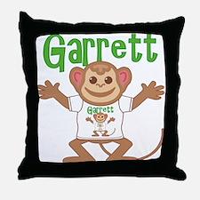 Little Monkey Garrett Throw Pillow