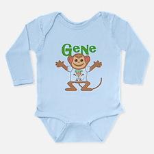 Little Monkey Gene Long Sleeve Infant Bodysuit