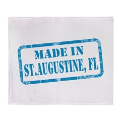 MADE IN ST. AUGUSTINE, FL Throw Blanket