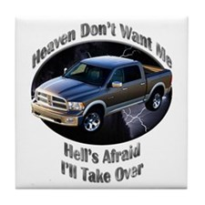 Dodge Ram Tile Coaster