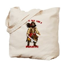 Time To Talk Like A Pirate Tote Bag