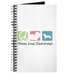 Peace, Love, Dachshunds Journal