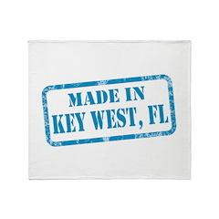 MADE IN KEY WEST, FL Throw Blanket