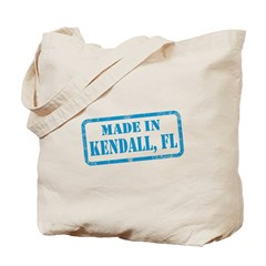 MADE IN KENDALL, FL Tote Bag