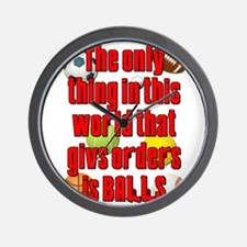 Balls Give Orders Scarface Wall Clock