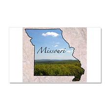 Cute Missouri usa Car Magnet 20 x 12
