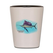 Indo-Pacific Sailfish Shot Glass