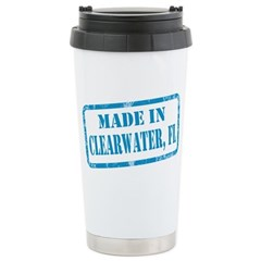 MADE IN CLEARWATER, FL Travel Mug