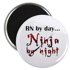 Nurse Ninja Magnet