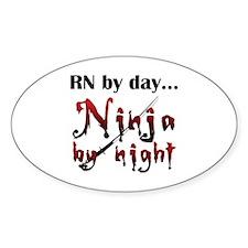 Nurse Ninja Decal