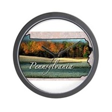 Cute Pennsylvania Wall Clock