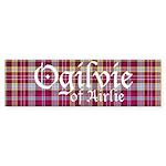Tartan - Ogilvie of Airlie Sticker (Bumper 50 pk)