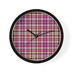 Tartan - Ogilvie of Airlie Wall Clock
