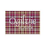 Tartan - Ogilvie of Airlie Rectangle Magnet (10 pa