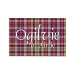 Tartan - Ogilvie of Airlie Rectangle Magnet (100 p