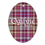 Tartan - Ogilvie of Airlie Ornament (Oval)