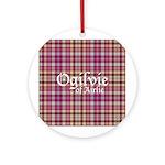 Tartan - Ogilvie of Airlie Ornament (Round)