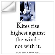 Kites rise Wall Decal