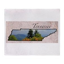 Unique Tennessee Throw Blanket