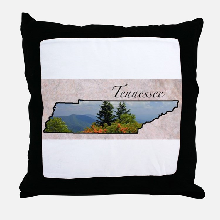 Cute Tennessee Throw Pillow