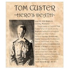 Tom Custer Poster