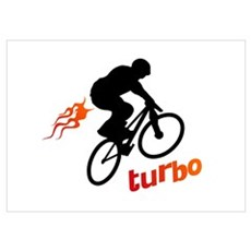 Turbo (fart / BMX) Poster