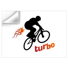 Turbo (fart / BMX) Wall Decal