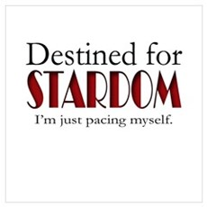 Destined for Stardom Canvas Art