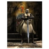 Knights templar Wrapped Canvas Art