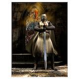 Knights templar Posters