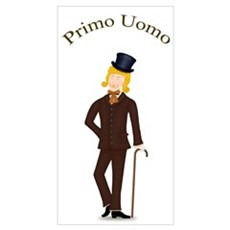Blond Primo Uomo in Dark Suit Poster