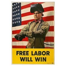 Free Labor Will Win Framed Print